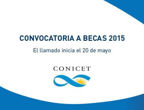 Se encuentran disponibles las bases para la convocatoria a las BECAS 2015