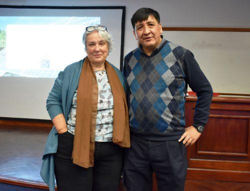 Visita de la Dra. en Física Ángeles López Agüera de la USC, España. Disertó sobre Comunidades Sostenibles.