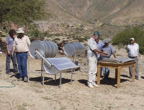 Curso sobre el uso de calefones solares
