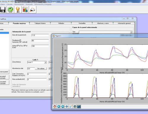Evaluación por simulación computacional del comportamiento térmico de edificios convencionales y bioclimáticos